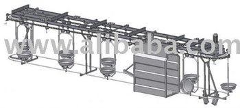 Tray and hook conveyors