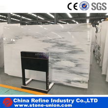 Royal White Grey Jade marble &Popular Jade Stone Color White With Grey marble