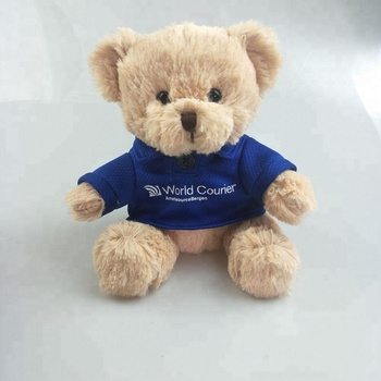 Factory directly Custom 15cm Graduation Teddy bear with school uniform