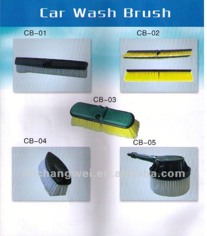 Many kinds of PP car wash brush