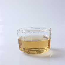 Hot Selling! 100ml Chinese high borosilicate drinking tea or coffee glass teapot cup