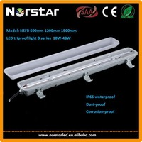 Shenzhen sales hot 600mm 30W IP65 LED Tri-Proof Tube Light,free sample for led tri-proof tube