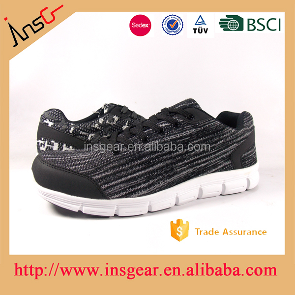 fly knit walking shoes for adults light air brathable casual sport shoes