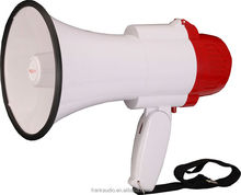 10W small hand meaphone handy megaphone with record