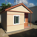 Economical price prefabricated well-designed luxury small villa with furnishing