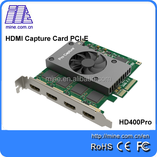 Factory price user friendly fast capture Video Capture Card for capture HD video