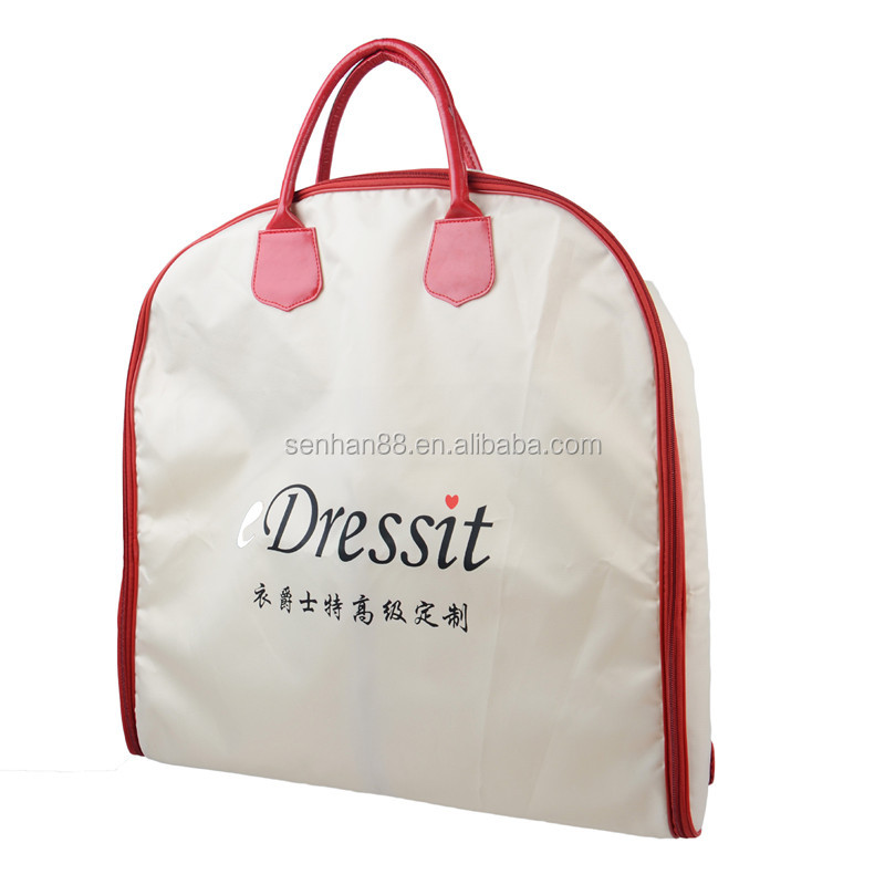 customized garment bag wholesale foldable garment suit bags with handles