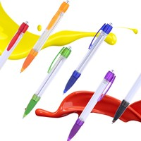 Reasonable Prices logo banner ballpoint plastic gift ball pen,plastic ball-point pen