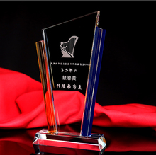 Manufacturer Hot Sale High Quality Custom Blank Trophy Plaques Crystal Shield Trophy