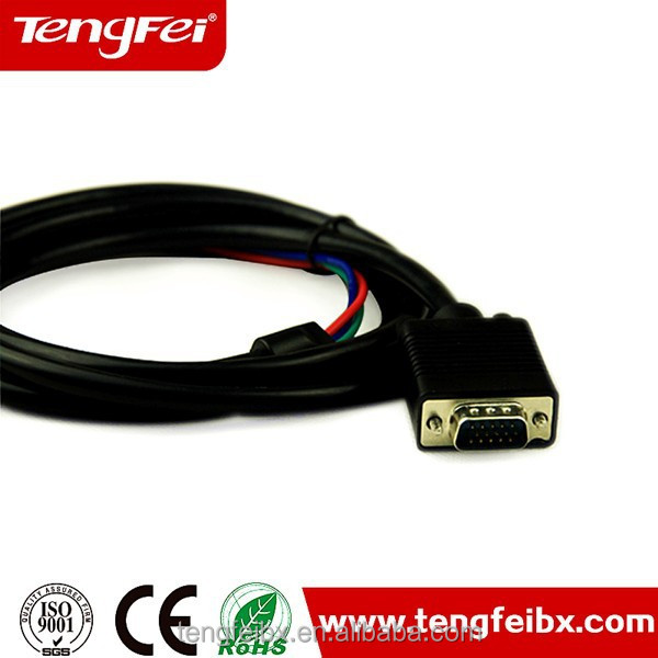 High quality splitter rca output to vga input