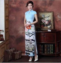 Z55137B newset ladies dress toast clothing long paragraph Slim dress chinese Cheongsam
