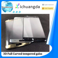 3D full curved tempered glass screen protector for samsung S7 edge