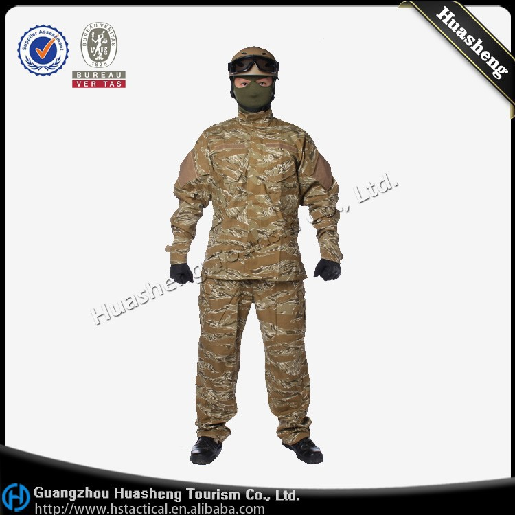 Camouflage Clothing Ghillie Suit SWAT Combat Tactical Military Uniform