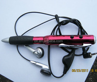 FM Radio pen, plastic Radio pen Multifunctional pen