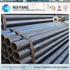 EN10220/ASTM A53 erw black carbon steel pipe for hot sale