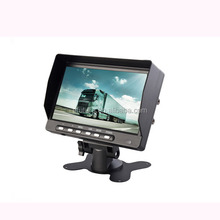 7 Inch TFT LCD Digital Reversing TFT Car Quad Rearview Monitor for Heavy Truck