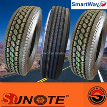 semi truck tire sizes 11r22.5 295/75r22.5 with dot for market usa