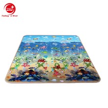 SGS approved eco-friendly durable baby cushioned play mat with 180*150*1cm