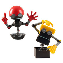 Non-phthalate pvc and polypropylene plastic custom action figure maker