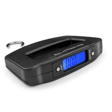 50kg 10g LCD digital luggage belt handheld portable electronic hanging scale