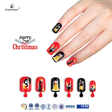 Fengshangmei nail tips artificial new design cheap christmas finger nails