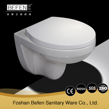 Latest design sanitary ware german wall mounted toilet with CE