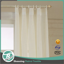 Custom Solid Double Pleated Window Treatment Draperies