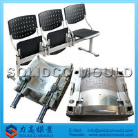 new design plastic office chair mould office chair spare parts mould office chair with footrest