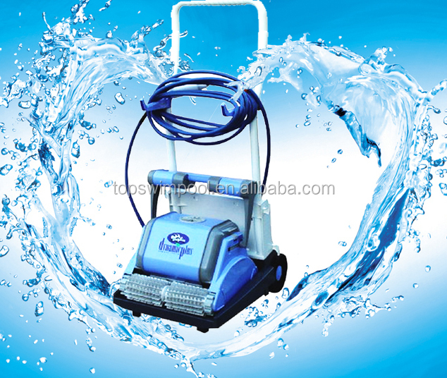High quality swimming pool robotic cleaner self cleaning with filtration system