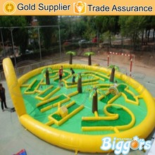 Outdoor Commercial Inflatable Golf Game For Sale