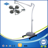 120000lux emergency mobile hospital led operating light