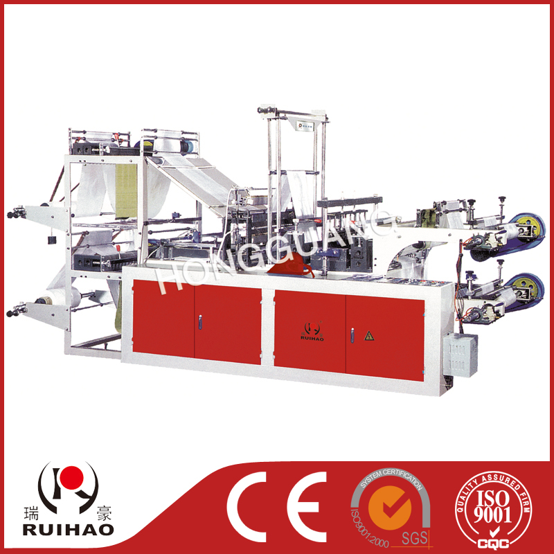 2 color hdpe ldpe plastic blow film machine