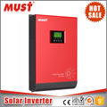 Pure sine wave solar inverter 5kva with high efficiency 80A MPPT charger