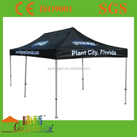 Large instant canopy reinforced cross bar advertising event tents for sale , oudroor trade canopy