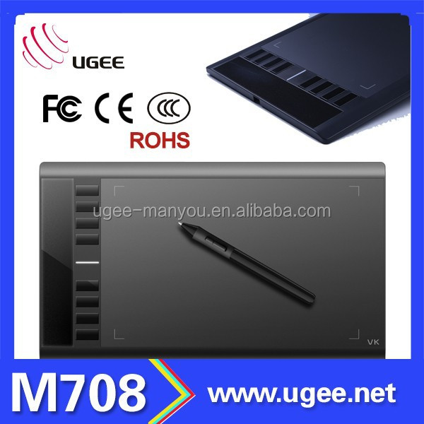 Ugee M708 digipro graphics tablet