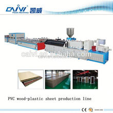 wpc roof sheet making machines / wpc wood plastic roof titles extruding machine