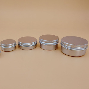 ointment salve unguent aluminum cosmetic containers cream aluminium canstin jars 5g 10g 20g 30g 50g 60g 80g 100g 150g 200g 250g