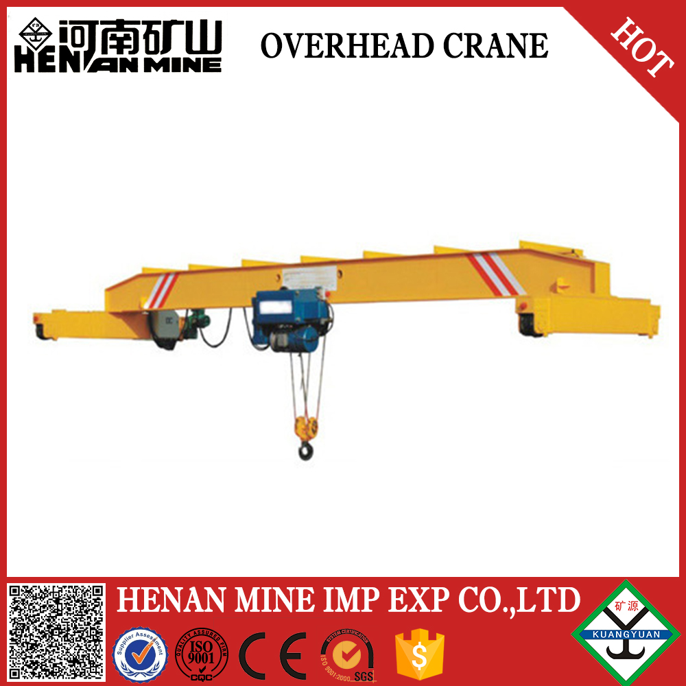 LD overhead crane 10ton, workshop use crane from China crane supplier