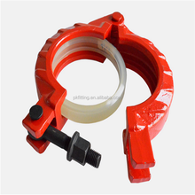 Junjin wholesale price concrete pump spare parts, concrete pump forged clamp