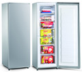 Factory single door dc solar 24v upright freezer 198liters BD-198F