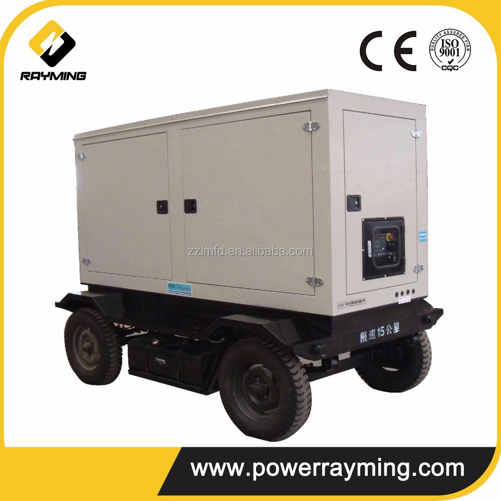 Hot Sale Powered By Cummins 100kw Portable Magnetic Generator
