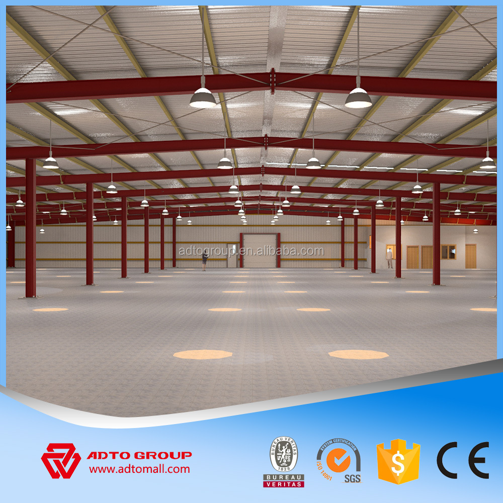 Fast manufacturing industrial PEB steel structure for warehouse building prefab engineering workshop mateirals supplier