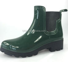good quality for women short boots pvc boots garden boots