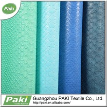 Top Sale 100% PU Synthetic Leather Embossing Pu Leather For Car Seat Leather