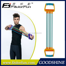 Feva Expander-2015 New Products Durable Colorful Adjustable Rubber Leg Exercise Port Chest Expander Types Designer