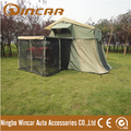 Overland 4WD Roof top ten TENT with Annex Ripstop Canvas Material