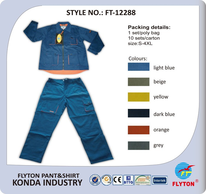 Low price high quality best selling safety coal mine work wear