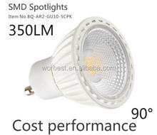 Long Life Lamp Company GU10 5 Watt Super Bright LED with New Chip Technology