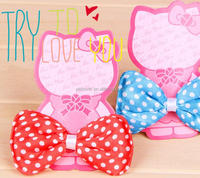 2016 new pet product cute ribbons and bows