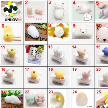 Mini Soft Squishy toToys, Squeeze Toys Soft Stretchy Healing ys fidget toy, Slow Rising Animal Hand Toy Squeeze Kids Toy Gift